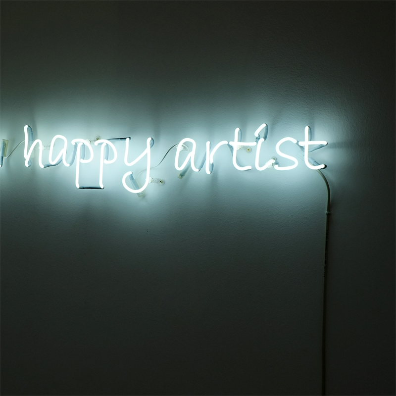 Never Trust a Happy Artist